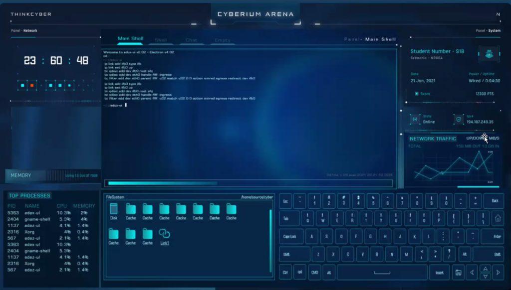 Cyberium Console
